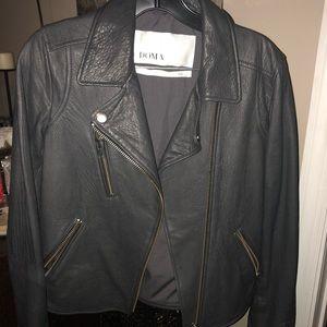 New! Doma leather jacket
